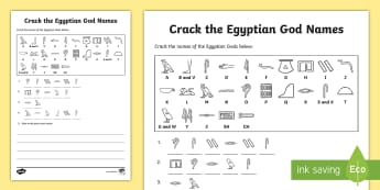 graphic relating to Ancient Egypt Printable Worksheets identified as KS2 Egyptians Producing Frames and Worksheets Most important Elements