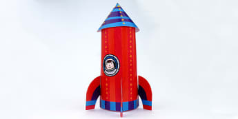 Cut-Out Space Rocket Model Templates - cut out, cut outs, model, rocket model, make a rocket, how to make a rocket, how to, craft, rocket craft, space, outer space, in space, space activity, space model activity, make a rocket, rocket activity