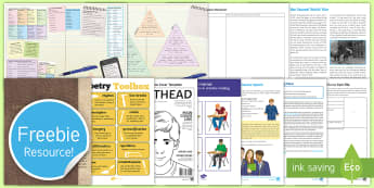 Free Secondary English Taster Resource Pack - free secondary resource pack, secondary english pack, free sample pack, twinkl, secondary