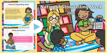 National Storytelling Week 2018 Assembly PowerPoint - National Storytelling Week 2018 Assembly PowerPoint - National Storytelling Week, 2018, assembly, sc