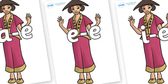 Split Digraphs on Lila - Split Digraphs, letters, modify, Phase 5, Phase five, alternative spellings for phonemes, DfES letters and Sounds