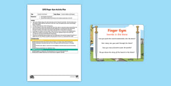 Swords in the Stone Finger Gym Plan and Prompt Card Pack - castles, knights, funky fingers, pincer grip, legends, traditional tales