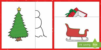 Christmas Craft Stencil Templates - christmas, crafts, drawing, templates