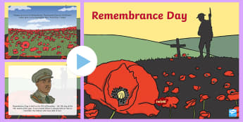 Remembrance Day PowerPoint - november, remembrance day, poppy, soldier, RSL,Australia