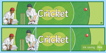 Cricket Display Banner - Cricket,Australia, cricket banner, sports, banner, the ashes, ashes, baggy greens, australia cricket, austr