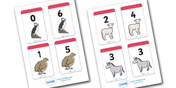 Number Bonds to 6 Matching Cards (Animals) - Number Bonds, Matching Cards, Animal Cards, Number Bonds to 6