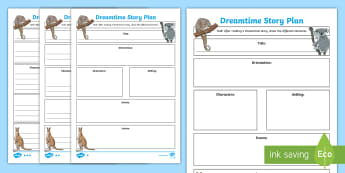 Aboriginal Dreaming Story Elements Differentiated Worksheet / Activity Sheets - Aboriginal history, indigenous history, Aboriginal storytelling, indigenous storytelling, Aboriginal