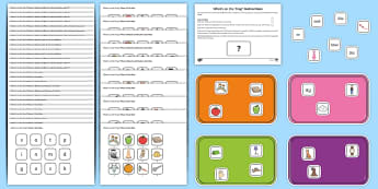 What\'s on the Tray? Phase 2 to 6 Letters and Sounds Memory Activity Pack  - Letters and Sounds, letters and sounds resources, free letters and sounds resources, phonics, phonic