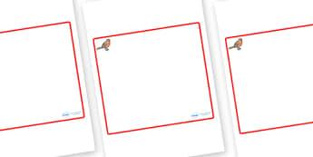Robin Themed Editable Classroom Area Display Sign - Themed Classroom Area Signs, KS1, Banner, Foundation Stage Area Signs, Classroom labels, Area labels, Area Signs, Classroom Areas, Poster, Display, Areas