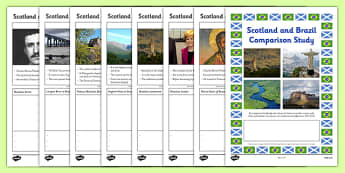 Scotland and Brazil Comparison Study Research Booklet - Comparison study, Brazil, Scotland, Olympics, research booklet, SOC 2-19a