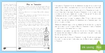 Maui and the Sun Story Printout - Te Reo Māori - Maui and the Sun, Te Reo Māori, Maui Story, Kōrero Pūrakau, Tamanuiterā, Printout