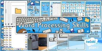 Computing: Microsoft Word Processing Skills Year 1 Unit Additional Resources