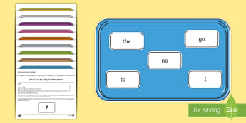 What's on the Tray? Phase 2 Tricky Words Memory Activity Pack - memory games, memory, memory game, memory activities, memory games for kids, auditory memory activit