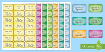 New Zealand Essential Spelling List Achievement Stickers - Literacy, spelling, essential list, achievement, stickers, english