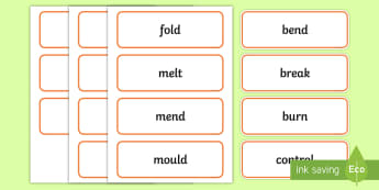 Object Verbs Word Cards - teaching verbs, deaf, deaf education, teacher of the deaf, verb vocab, verb visuals, verb display