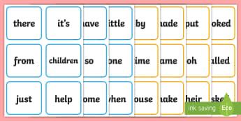 Phase 4 and 5 High Frequency Words Flashcards - phonics, Visual Aids Primary Resources, Phase four, phase five, Letters, sounds, dfes, Early Years (