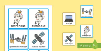 Space Station Role Play Badges - space, space station, badges, role play
