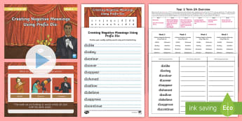 Year 3 Term 2A Week 5 Spelling Pack - Spelling Lists, Word Lists, Spring Term, List Pack, SPaG