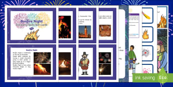 Bonfire Night Discovery Sack - Early Years, KS1, festivals, fireworks night, Guy Fawkes, Gunpowder Plot