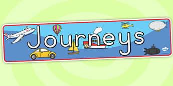 Journeys Display Banner - journeys, journeys display, banner