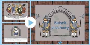 Prezentacja PowerPoint Spisek prochowy po polsku