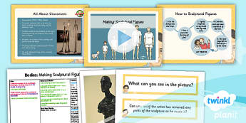 Art: Bodies: Making Figures in Mod Roc LKS2 Lesson Pack 5