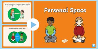 Personal Space PowerPoint - Personal Space, Social Stories, sen, proximity, space, social, autism, friendship, communication, co