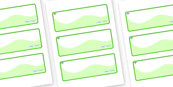 Acacia Themed Editable Drawer-Peg-Name Labels (Colourful) - Themed Classroom Label Templates, Resource Labels, Name Labels, Editable Labels, Drawer Labels, Coat Peg Labels, Peg Label, KS1 Labels, Foundation Labels, Foundation Stage Labels, Teaching L