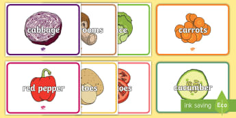 Supermarket Vegetable Role-Play Signs - role play, aistear, signs, vegetables, supermarket, market, shop, money