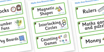 Beaver Themed Editable Maths Area Resource Labels - Themed maths resource labels, maths area resources, Label template, Resource Label, Name Labels, Editable Labels, Drawer Labels, KS1 Labels, Foundation Labels, Foundation Stage Labels, Teaching Labe
