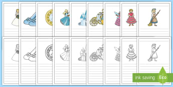 Cinderella Writing Frames - writing frame, frame, writing, writing aid, cinderella, cinderella frames, cinderella themed writing frames, writing template, template, literacy