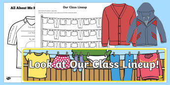 Back to School Clothesline Themed Resource Pack - End of Year/Back to School Australia, Australia, new school year