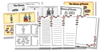 The Queen Of Hearts Resource Pack - the queen of hearts, resource pack, pack of resources, themed resource pack, the queen of hearts pack, resources