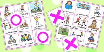 He, She And They Noughts And Crosses Game - SEN, SEN games, games