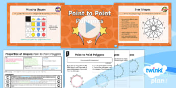 PlanIt Maths Y2 Properties of Shapes Lesson Pack 2D Shapes (3)