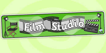 Film Studio Role Play Banner-film studio, movie studio, role play, banner, role play banner, film studio banner, film studio role play