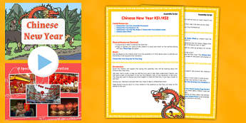 Chinese New Year Assembly PowerPoint and Script Pack - pack