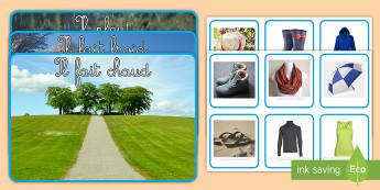 Activité de tri : Les vêtements selon le temps -  Activité de tri, tri, activité, photo, temps, vêtements, météo, meteo, Photo Weather Clothes S