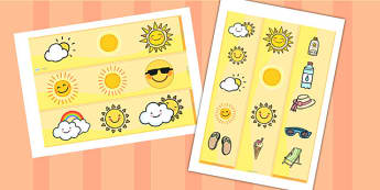 Sun Display Borders - sun, display, borders, display borders, classroom display borders, display board borders, sun themed borders, classrom display, display