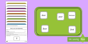 What's on the Tray? Year 2 Common Exception Words Memory Activity Pack - year 2, common exception words, Visual Stimulus, Visual Memory, Auditory Processing Disorder, Deafne