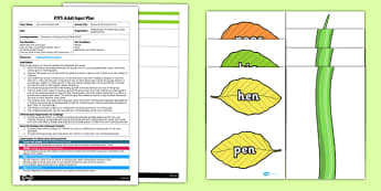 Jack and the Beanstalk Rhyming Activity EYFS Adult Input Plan and Resource Pack - EYFS planning