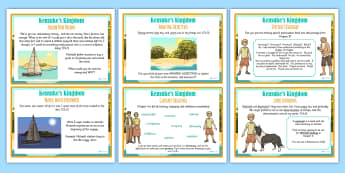 Kensuke's Kingdom Challenge Cards - stories, storybook, challenges