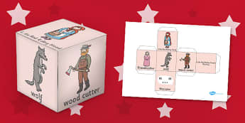 Little Red Riding Hood Role Play Dice - role-play, dice, hood