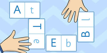 Letters Loop Cards (Upper & Lowercase) - ESL Alphabet Loop Game