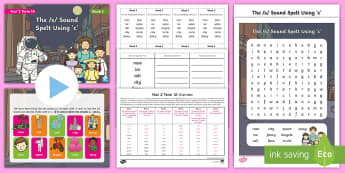 Year 2 Term 1A Week 3 Spelling Pack - Spelling Lists, Word Lists, Autumn Term, List Pack, SPaG