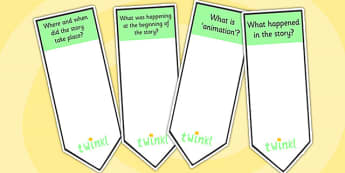AF2 Guided Reading Question Bookmarks - assessment focus 2, af2 bookmarks, assessment focus reading, assessment focus 2 bookmarks, question bookmarks, af2