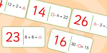 Missing Number Domino Loop Cards - dominoes, maths, counting