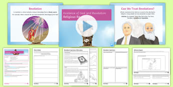 Existence of God and Revelations Lesson 3: Religious Revelations - Revelation, God, belief, Existence, Islam, Christianity, Judaism