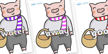 Next 200 Common Words on Little Piggy - Next 200 Common Words on  - DfES Letters and Sounds, Letters and Sounds, Letters and sounds words, Common words, 200 common words