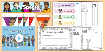I Am Special Resource Pack - ROI RSE Resources Junior Infants - 2nd Class,Irish